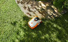 Robotic mowers for mid-sized lawn areas
