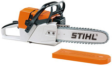 Children's battery-operated toy chainsaw