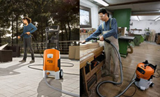 STIHL Cleaning Systems - Pressure washers and vacuums