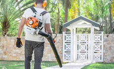 The STIHL backpack blowers
