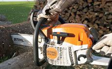 Pour travaux forestiers