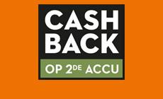 Ontdek onze Cashback actie!