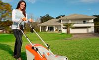 Cortadores de grama para uso ocasional
