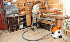 Universal Wet and Dry Vacuum Cleaner for professional applications