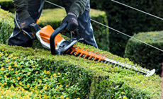 PRO Battery Hedge Trimmers