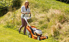 PRO cordless power system lawn mowers