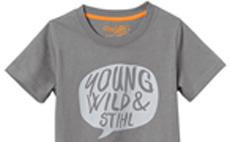 YOUNG, WILD & STIHL t-shirt