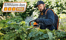 PRO Cordless Power Systems For Large Gardens and Professionals