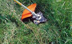 Žací listy na trávu