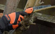 Steel pruning saws