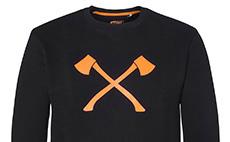 STIHL TIMBERSPORTS® Axe sweatshirt - Orange