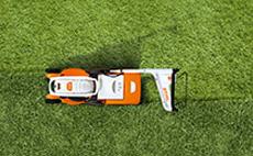 AK System Lawn Mowers and Scarifier