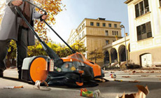 Cordless Li-Ion sweeper