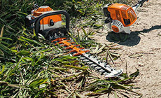 Hedge Trimmers, Long-reach Hedge Trimmers and Pole Pruners