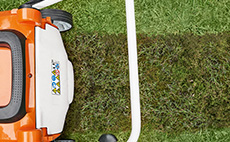 Lawn scarifier accessories