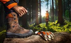 Pracovní obuv pro stabilní postoj a ochranu
