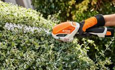 Акумулаторни ножици за храсти и трева