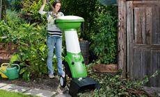 Kompostkvarn med dubbelfunktion