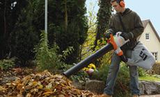 Sähkökäyttöiset puhaltimet ja imusilppurit