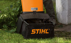 Accessories for garden shredders