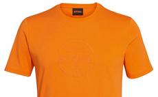Logo Circle orange t-shirt