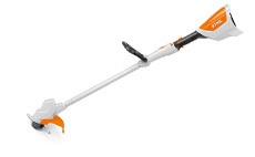 Children's battery-operated toy brushcutter