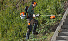 STIHL backpack brushcutters